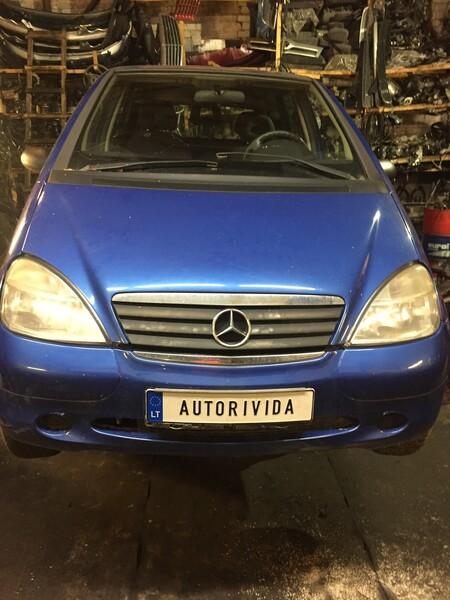 Mercedes-Benz A Klasė 1999 m dalys