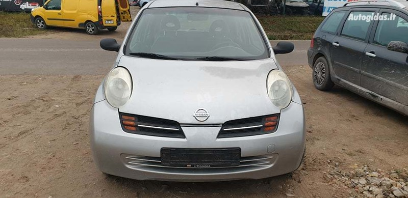 Nissan Micra K11 2003 m dalys