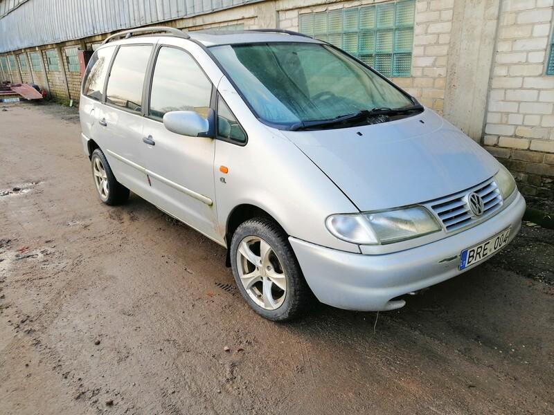 Volkswagen Sharan 1997 m dalys