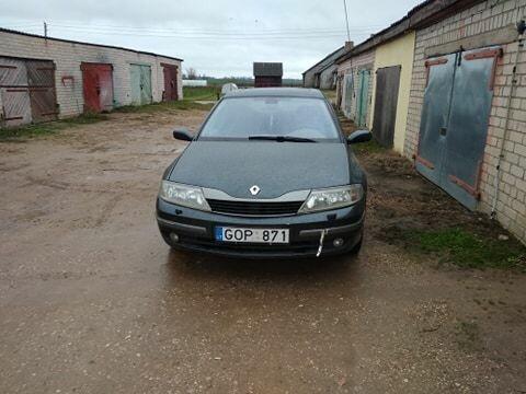 Renault Laguna II 2002 m dalys