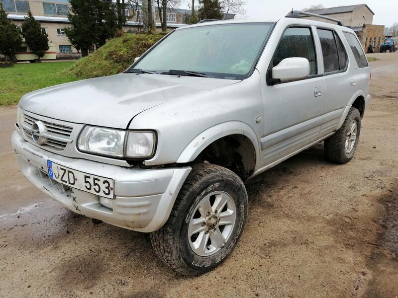 Opel Frontera 2004 m dalys