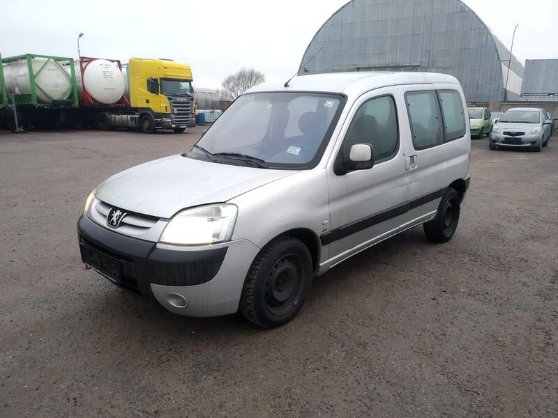 Peugeot Partner II (2008- ) 2004 m dalys