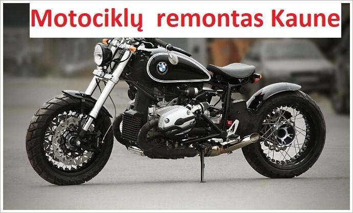 Pigus ir kokybiškas motociklų  remontas kaune