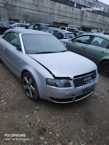 Audi A4 2006 m dalys