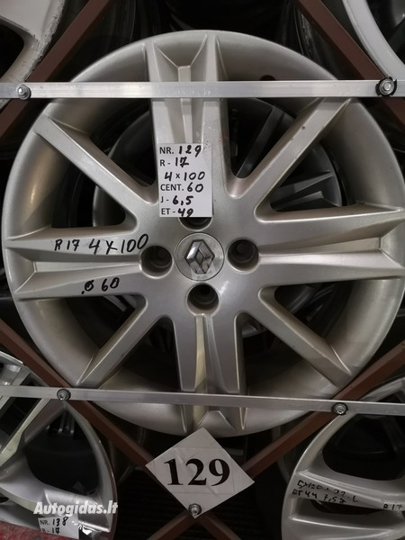 R17 light alloy  rims
