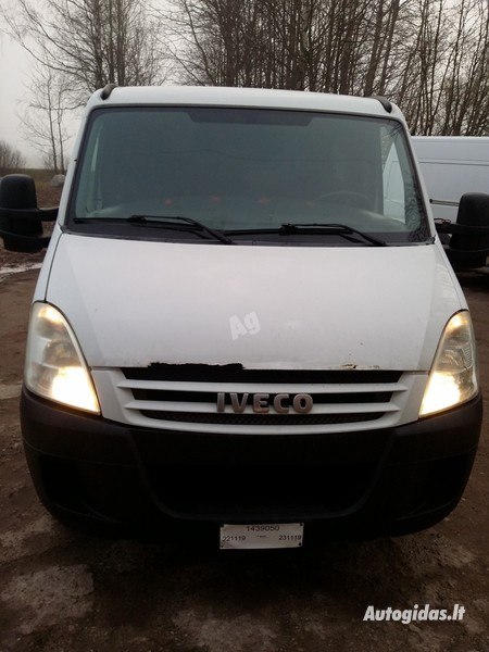 Iveco Daily 35 2010 m dalys