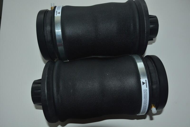 Mercedes-Benz ML-GL pneumatine pakaba-oro pagalves, Mercedes-Benz Ml Klasė ML 166 2006 m dalys