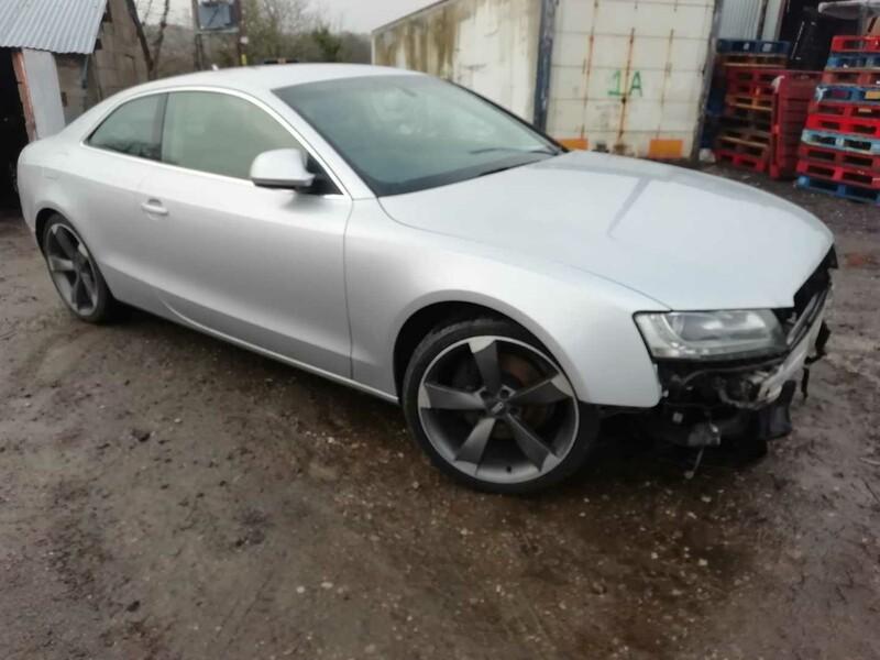 Audi A5 2008 m dalys