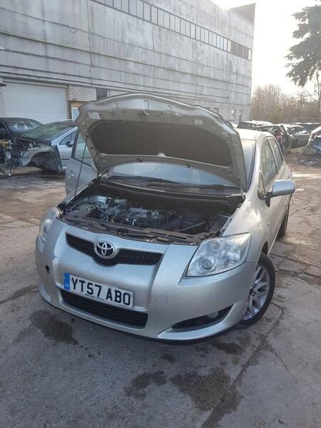 Toyota Auris I VVT-I  2007 m dalys