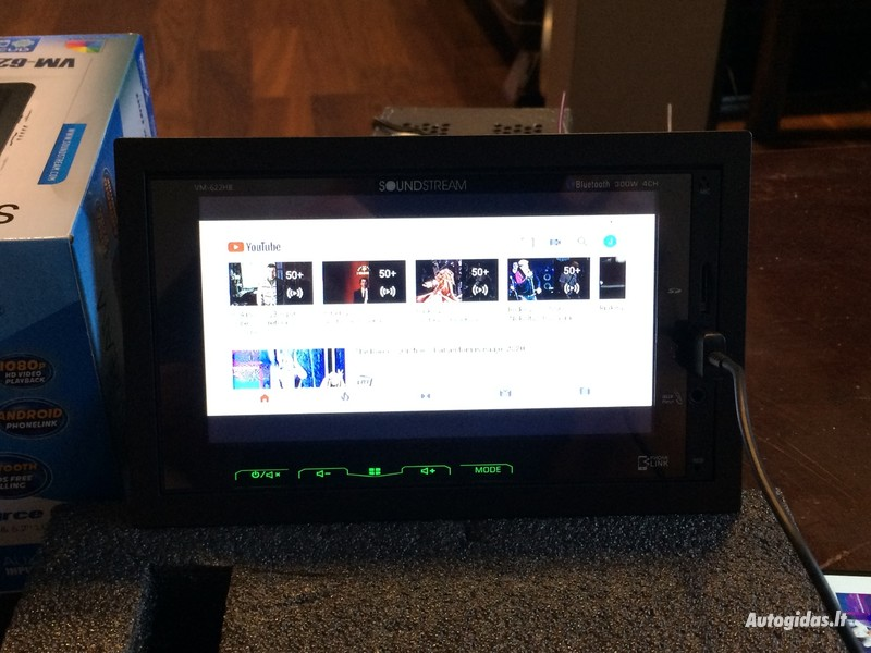 Multimedia  Soundstream VM-622HB Android