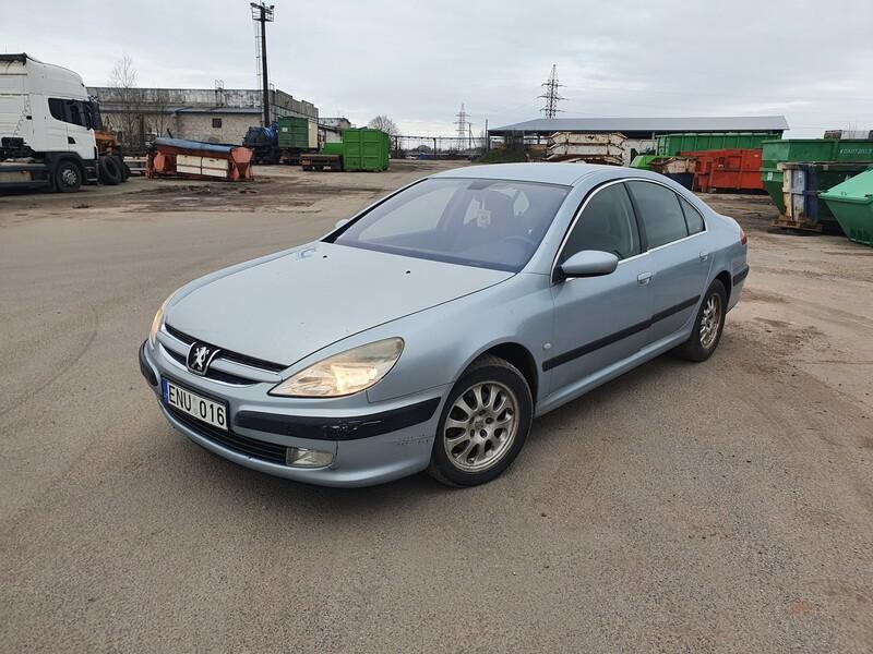 Peugeot 607 2.2 DYZELIS 98 KW 2001 m dalys