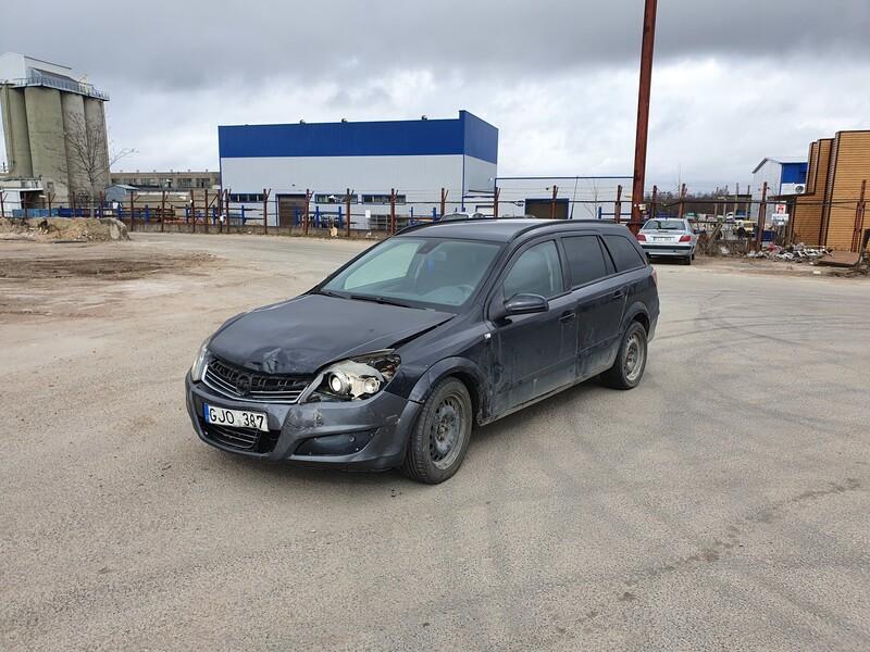 Opel Astra III 1.7 DYZELIS 92 KW 2008 m dalys