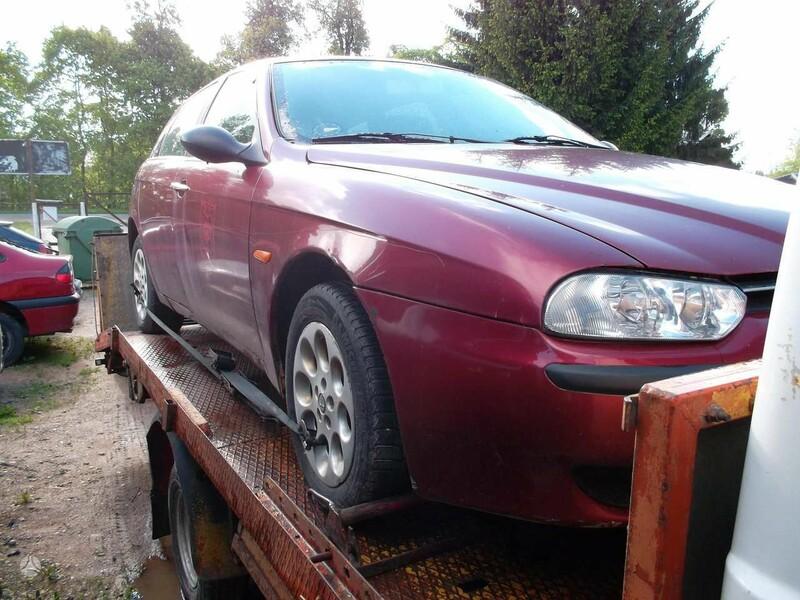 Alfa Romeo 156 2001 m dalys