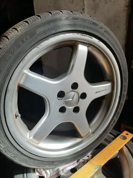 Mercedes-Benz R18 lengvojo lydinio  ratlankiai