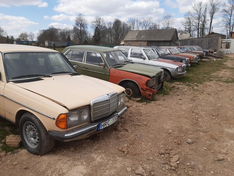 Mercedes-Benz W123 1983 m dalys