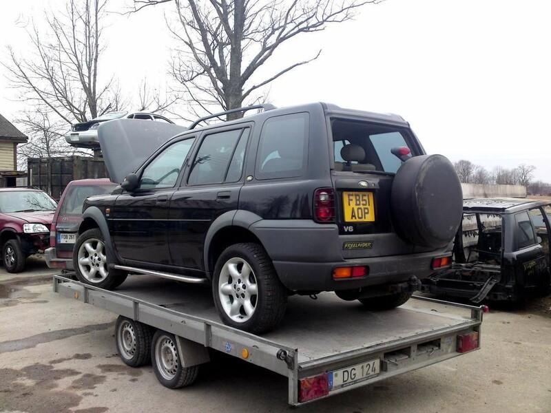 Land Rover Freelander 2002 m dalys
