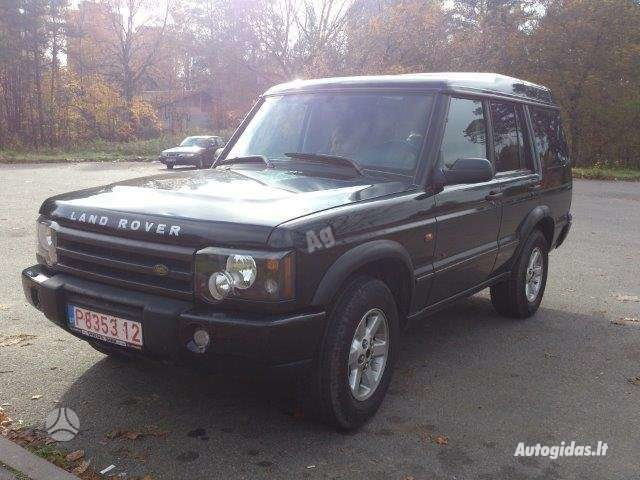 Land Rover Discovery 2003 m dalys