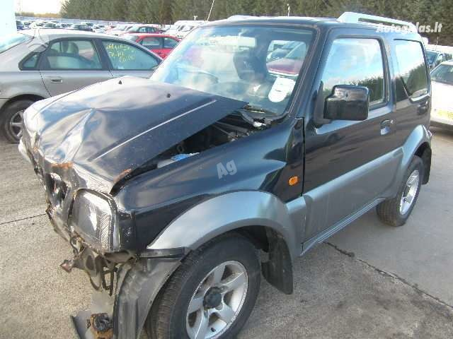 Suzuki Jimny 2007 m dalys