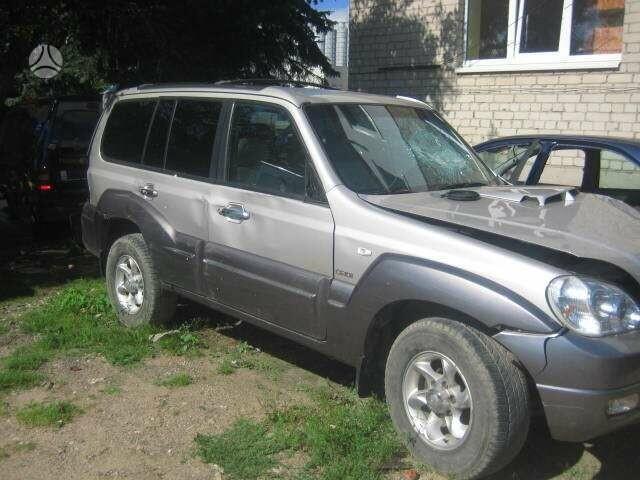 Hyundai Terracan 2006 m dalys