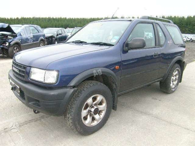 Opel Frontera 2000 m dalys