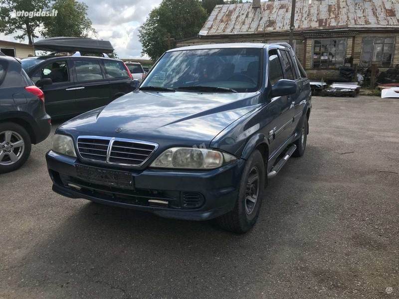 Ssangyong Musso 2004 m dalys