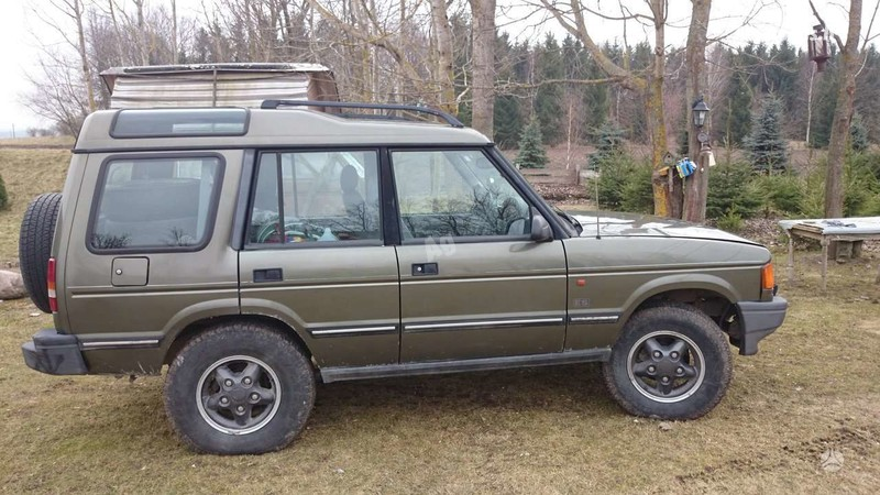 Land Rover Discovery 1998 m dalys