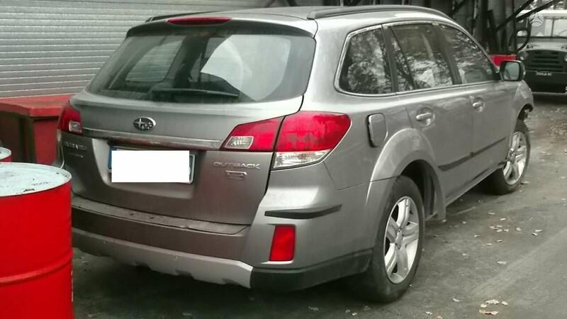 Subaru Outback 2011 m dalys