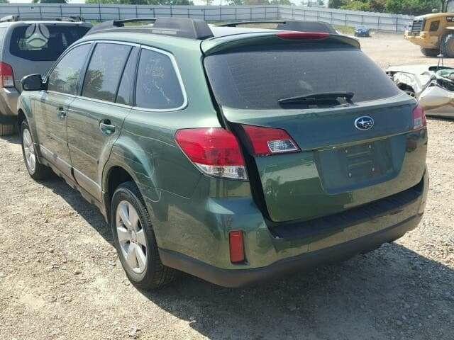 Subaru Outback 2012 m dalys
