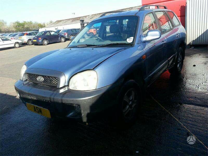 Hyundai Santa Fe 2003 m dalys