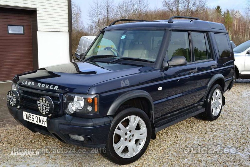 Land Rover Discovery 2002 m dalys
