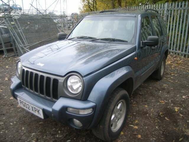 Jeep Cherokee 2002 m dalys