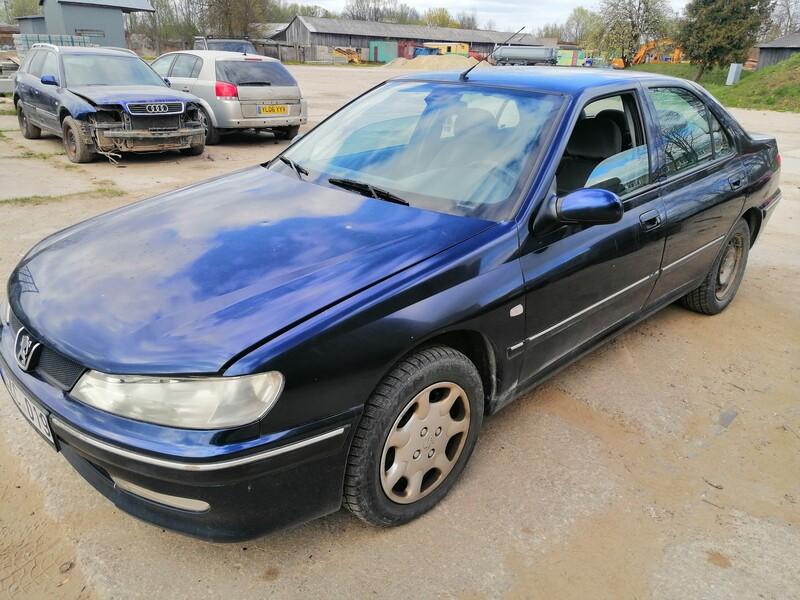 Peugeot 406 1999 m dalys