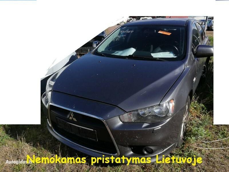 Mitsubishi Lancer VIII 2011 y parts