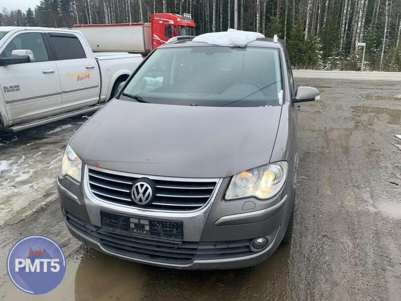 Volkswagen Touran I 2008 m dalys