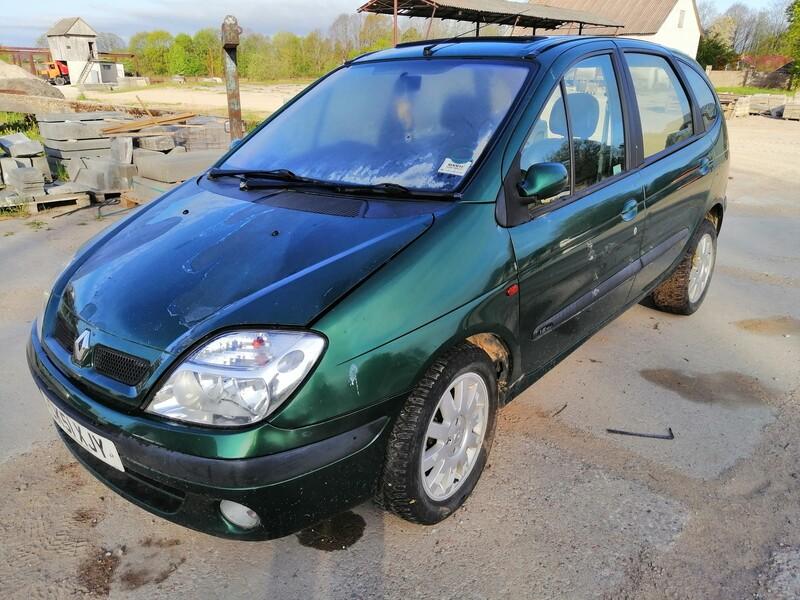 Renault Scenic 2002 m dalys