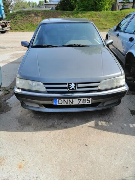 Peugeot 605 1998 m dalys