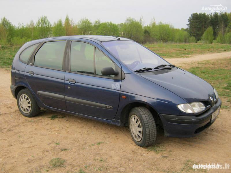 Renault Scenic I Dyzelis ir benzinas 1998 m dalys
