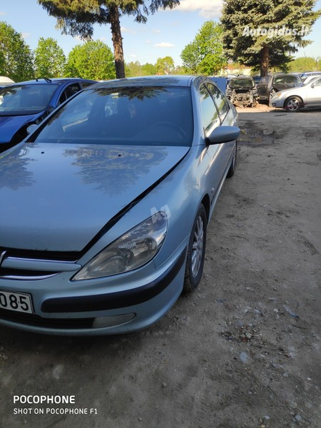 Peugeot 607 2001 m dalys