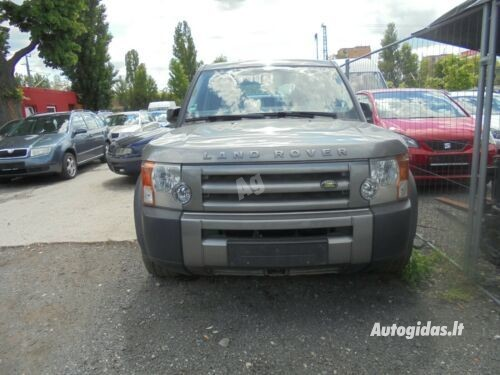 Land Rover Discovery III 2008 m dalys