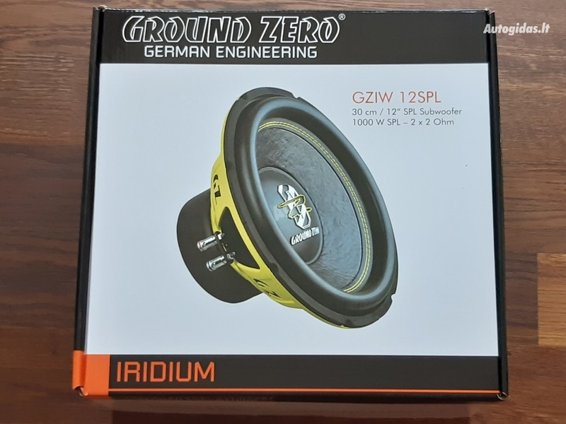 Subwoofer Speaker  Ground Zero gziw12spl yra kitų!