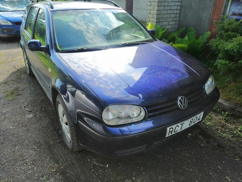 Volkswagen Golf 2002 m dalys