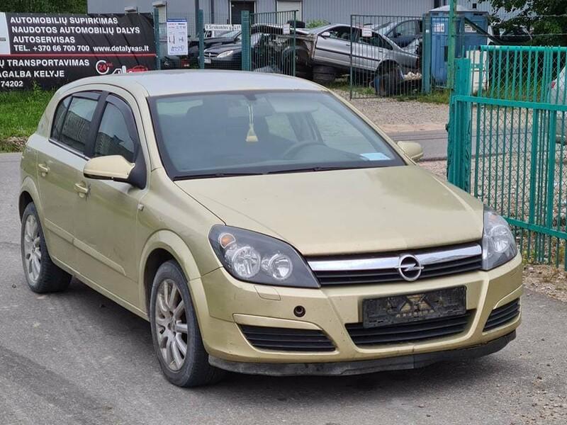 Opel Astra II 2005 m dalys