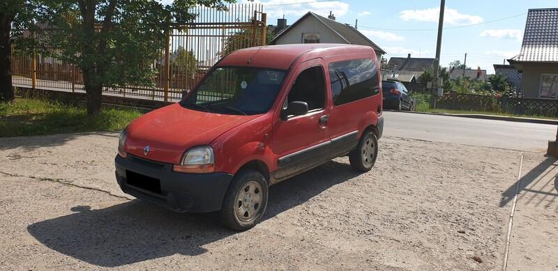 Renault Kangoo I 4x4, 70 kW 2002 г запчясти