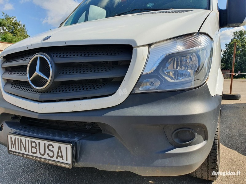 Mercedes-Benz Sprinter 2015 m dalys