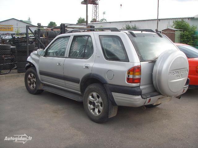 Opel Frontera B 2001 y parts