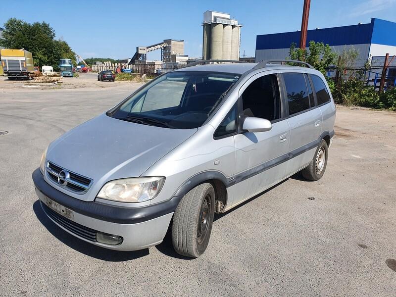 Opel Zafira A 2.0 DYZELIS 74 KW 2003 m dalys