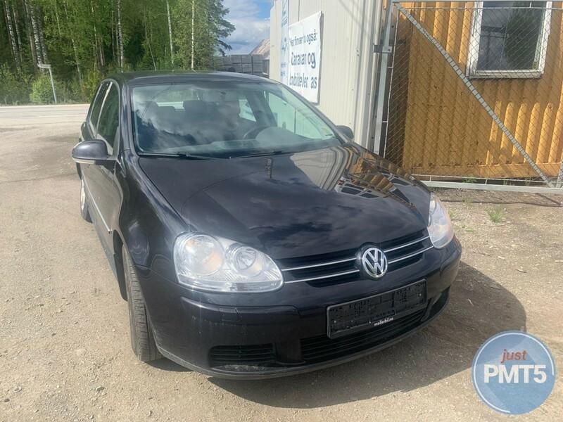 Volkswagen Golf V 2007 m dalys