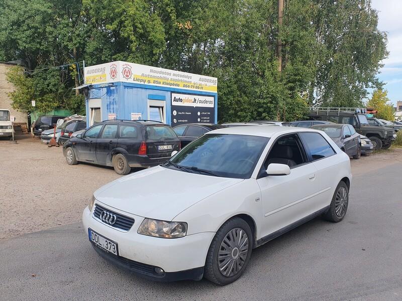Audi A3 8L 1.9 DYZELIS 96 KW 2002 m dalys