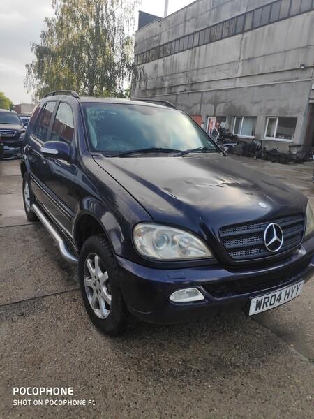 Mercedes-Benz Ml 270 2004 m dalys