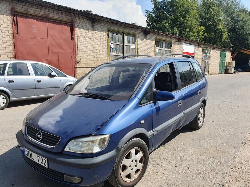 Opel Zafira A 1.8 BENZINAS 92 KW 2002 m dalys